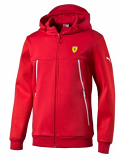 Puma Ferrari Red SF Hooded Sweat
