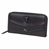 Puma Ferrari Black LS Ladies Wallet