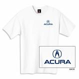 Acura White Logo Tee Shirt