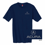Acura Navy Pocket Tee Shirt
