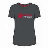 Haas F1 Ladies Grey Logo Tee