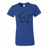 Honda Ladies Blue Star Tee Shirt