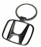 Honda Chrome Metal Logo Keychain