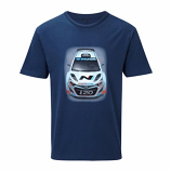 Hyundai Motorsport World Rally Team Car Tee Shirt