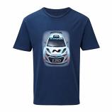 Hyundai Motorsport World Rally Team Car Tee Shirt