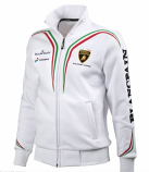 Lamborghini Squadra Corse White Sweatshirt