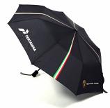Lamborghini Squadra Corse Black Compact Umbrella