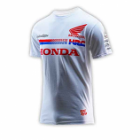 Honda Racing Team White Tee 2016