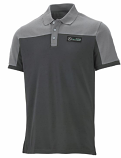 Mercedes AMG Petronas Gray Race Polo Shirt