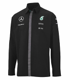 Mercedes AMG Petronas Black Long Sleeve Team Shirt