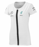 Mercedes AMG Petronas White Ladies Team Tee 2015