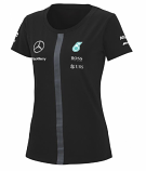 Mercedes AMG Petronas Black Ladies Team Tee 2015