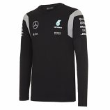 Mercedes AMG F1 Black Long Sleeve Tee