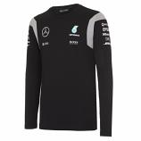 Mercedes AMG F1 Black Long Sleeve Tee