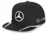 Mercedes AMG F1 Lewis Hamilton Black Flatbrim Hat