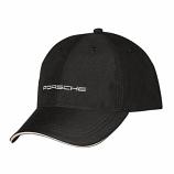 Porsche Black Logo Hat