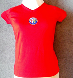 Alfa Romeo Ladies Logo Tee Shirt