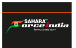 Sahara Force India Team Flag