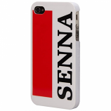 Ayrton Senna iPhone 4 White Plastic Case