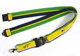 Ayrton Senna Helmet Logo Lanyard