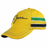 Ayrton Senna Yellow Helmet Hat