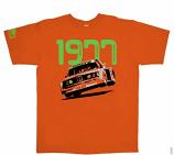 Hunziker DRM 1977 Orange Tee